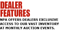 Dealer Features